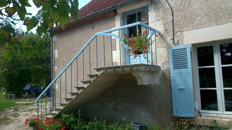 Escalier dit à L'Anglaise